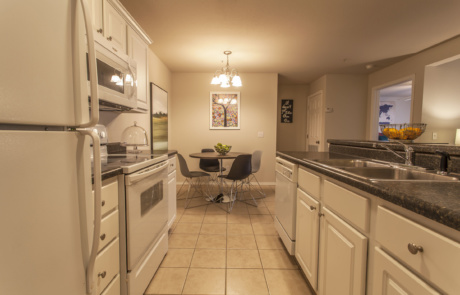 The Carlyle Apartment Homes 1 Bedroom Dining Kitchen